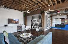 Contemporary Hipster Offices - Adobe's New Workspace is Full of Inspiring Office Design Ideas