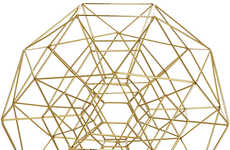 Geometric Sphere Decor