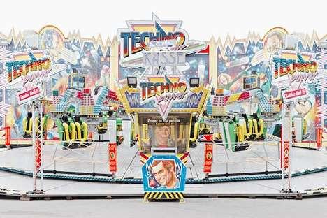 Symmetrical Carousel Photography