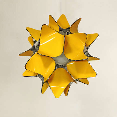 Sculptural Starburst Lighting