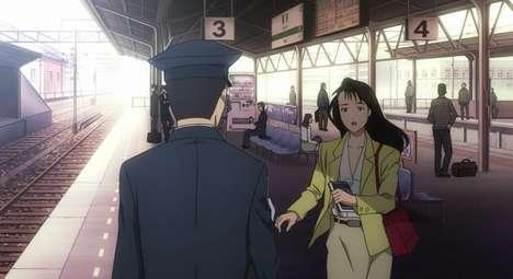 Railway-Commemorating Animes