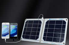 Waterproof Solar Chargers - The sCharger-8 is the Perfect On-the-Go Charger for Your Smartphone
