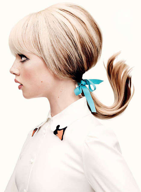 Stylishly Playful Ponytails