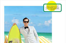Dapper Vacationer Editorials