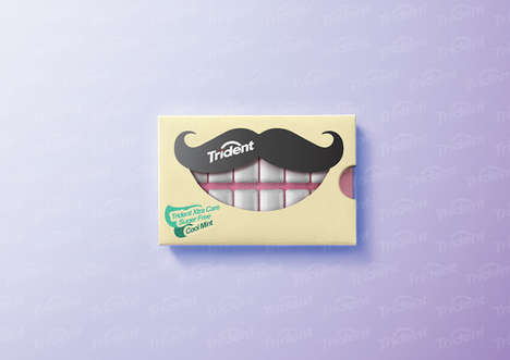Grinning Gum Packaging