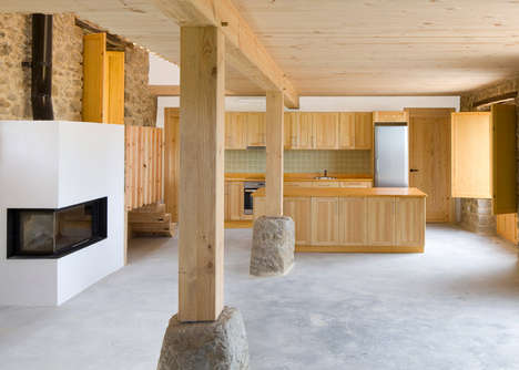 Renovated Rural Farmhouses