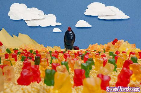 Giant Gummy Dune Dioramas