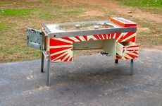 Pinball Machine Desks