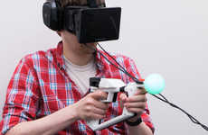 Virtual Reality Controllers - The Magnum Motion Controller Doesn't Require a Screen