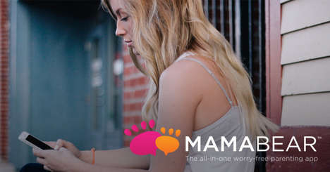 Monitoring Media Apps - The Mamabear App Helps Parents Audit Their Child's Social Media