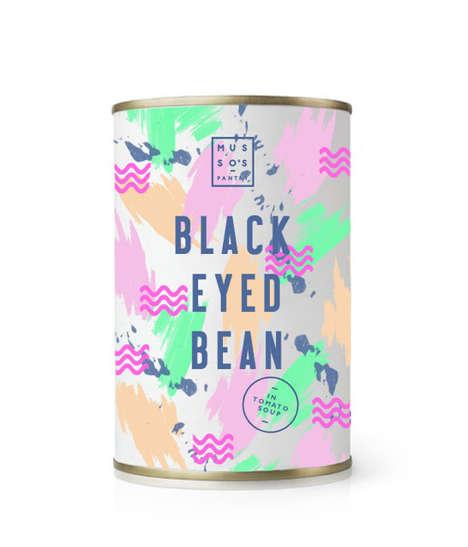 Painterly Food Packaging