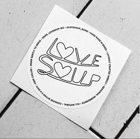 Emotion-Driven Soup Packaging - Mine Design Focuses on Feelings for 'Love Soup'