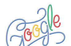 Typographic Search Logos - Designer Roberland Borges Imagines Stylish Versions of the Google Logo