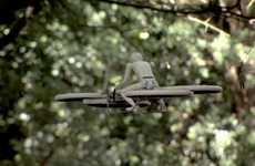 Drone Hoverbike Toys - Malloy Aeronautics' Drone Teases the Design of a Full-Scale Quadrotor