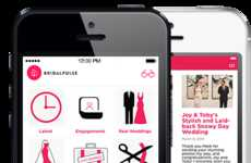 Inspiring Wedding Apps - The BridalPulse App Offers iOS Users Wedding Inspiration and Ideas