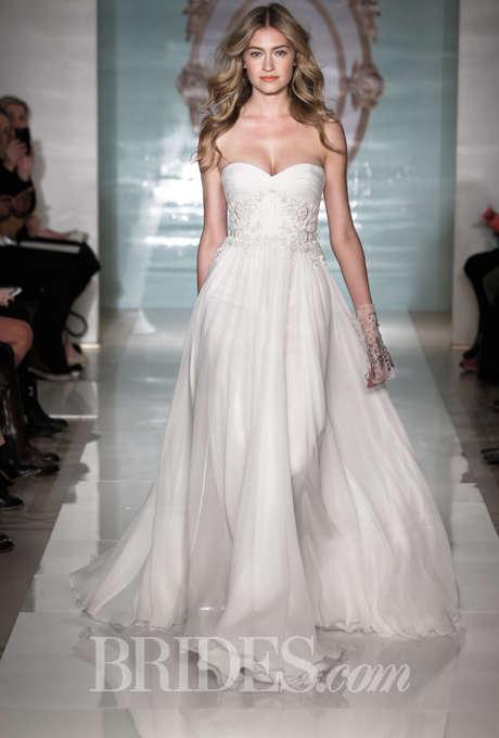 Ethereal Sheath Wedding Dresses