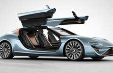 Supercharged Limousine Autos - The Futuristic QUANT e-Sportlimousine Comes With Scissor Doors