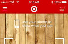 Shoppable Advertisement Apps - Target's In a Snap Smart Shopping App Lets You Shop Print Ads