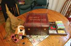 Wizard Board Games - Harry Potter Monopoly Immerses Fans in a Magically Competitive World