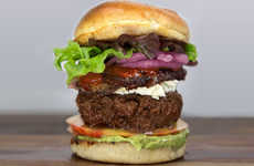 Decadent Moroccan Burgers - This PornBurger Recipe Includes Strawberry Harissa-Slathered Lamb Belly