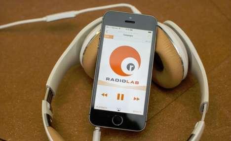 Elegant Podcasting Apps