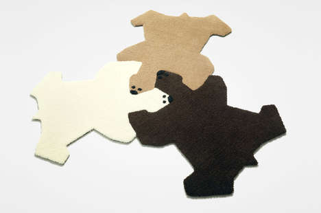 Bear Puzzle Rugs