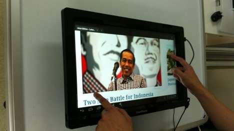Convertible Touchscreen Frames