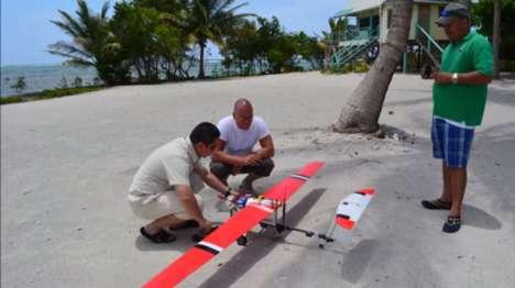 Coastline-Monitoring Drones