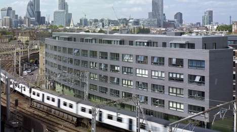 Railway-Straddling Buildings