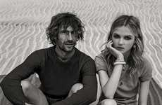 Casual Castaway Editorials - The Vanity Fair Italia The Perfect Wave Photoshoot is Relaxed