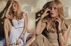 Grecian Gemstone Editorials