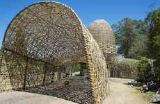 Curved Bamboo Structures