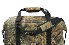 Wilderness Camouflage Coolers - These  Drink Coolers Will Keep Your Stuff Contents Cold for 24 Hours