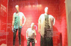 Realistic Retail Mannequins - JC Penny's Retail Display Mannequins Reflect Diverse Body Types
