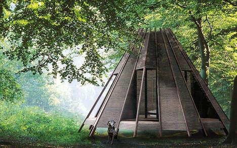 Customizable Teepee Cabins