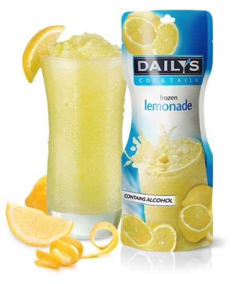 Boozy Frozen Lemonades