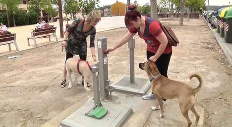 Flushable Dog Stool Stations
