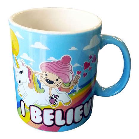 Kitschy Unicorn Mugs