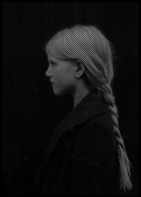 Perforated Portrait Art