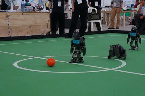 Robotic Soccer Tournaments