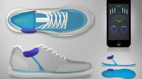 Ultra-Sensitive Feet Trackers