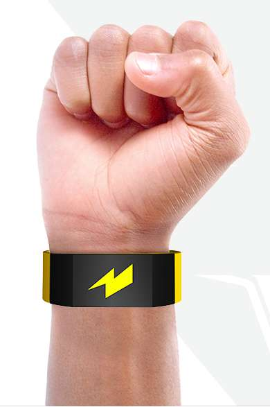 Jolting Workout Wristbands