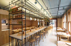 Culturally Fused Eateries - The Opso Restaurant Combines Greek and British Design