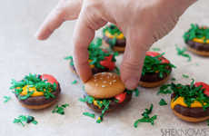 Decieving Hamburger Cookies