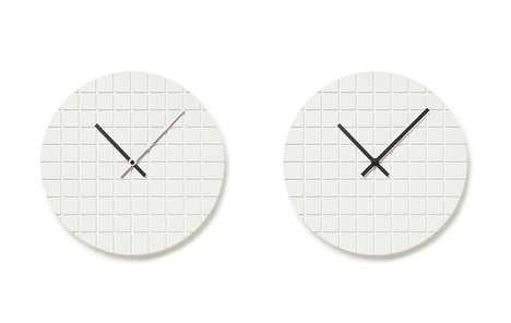 Minimalist Grid Clocks