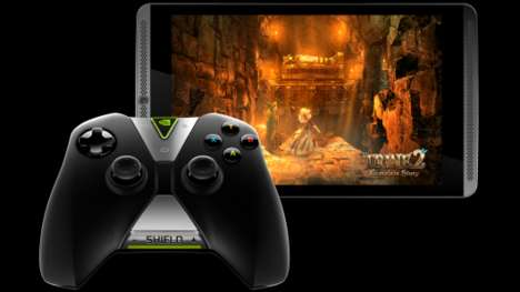 Portable Gaming Tablets - The Nvidia Shield Tablet Aims to Take Mobile Gaming to the Next Level