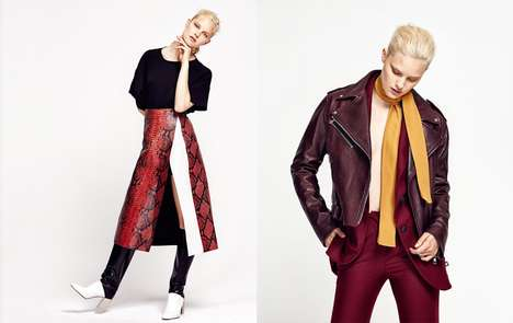 Beguiling Leather Editorials