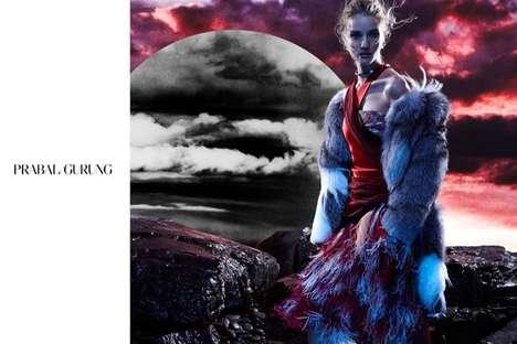 Otherworldy Fashion Ads