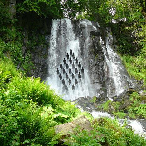 Cascading Waterfall Installations