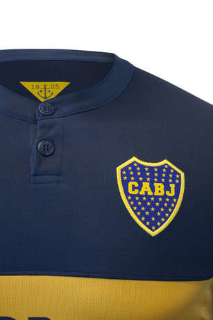 Seafaring-Inspired Soccer Kits - The New Boca Juniors Kit is Inspired by the Ports of Buenos Aires